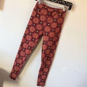 LuLaRoe Pants - Mandala Cloud Lularoe One Size Leggings Skinny